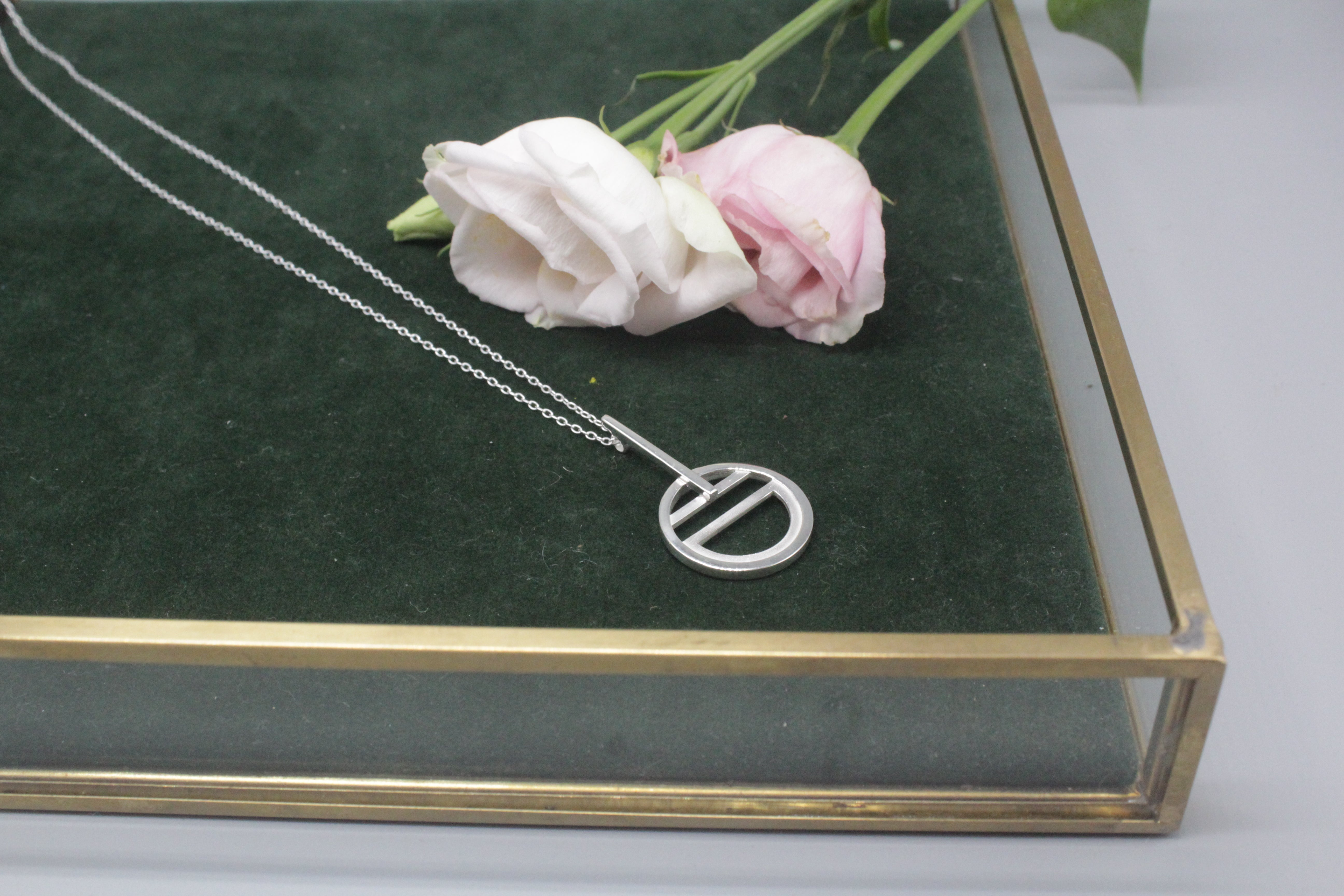 the Tangent Necklace - the Tangent Collection
