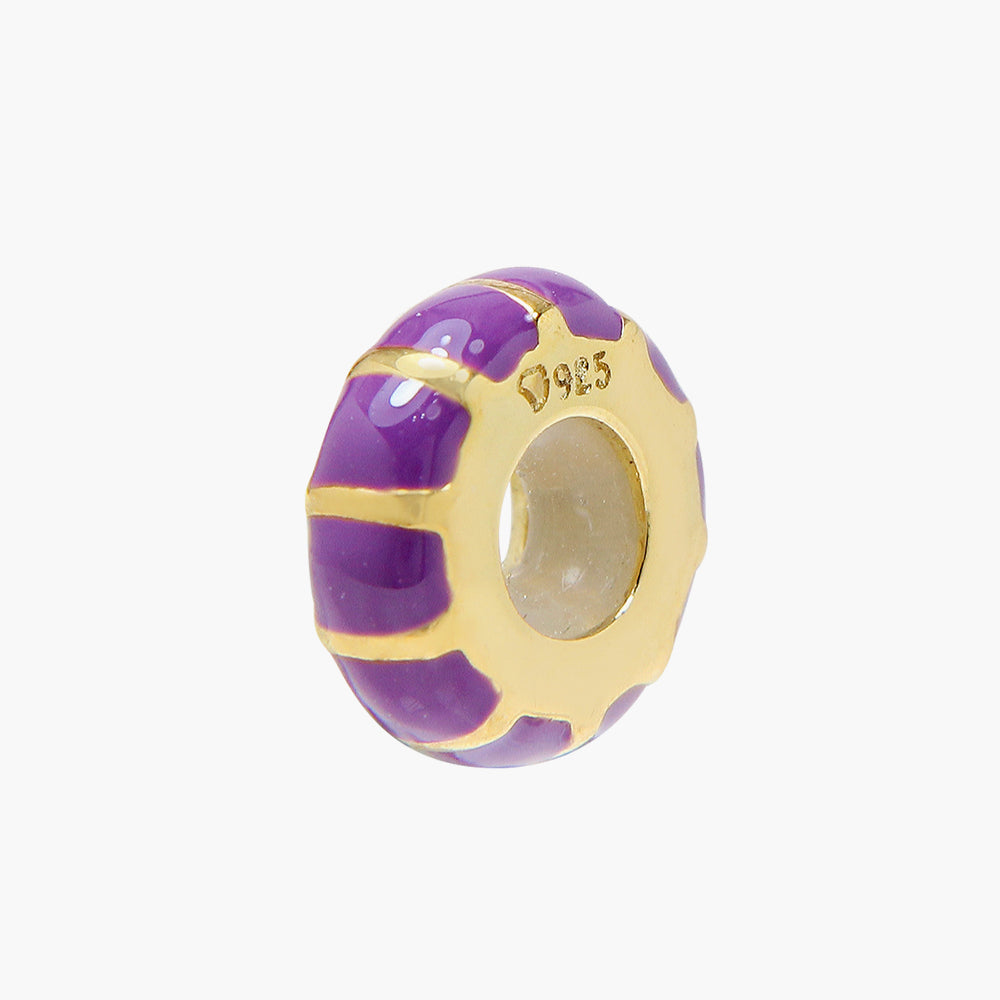 Gold Arabian Stopper- Purple