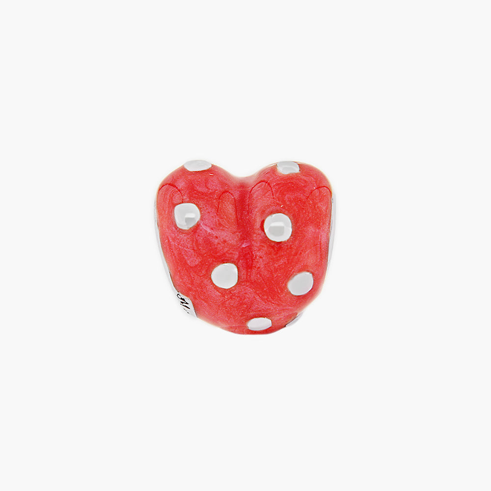 Red Heart Bead