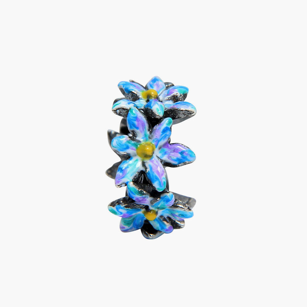 Blue/Purple Flower Spacer