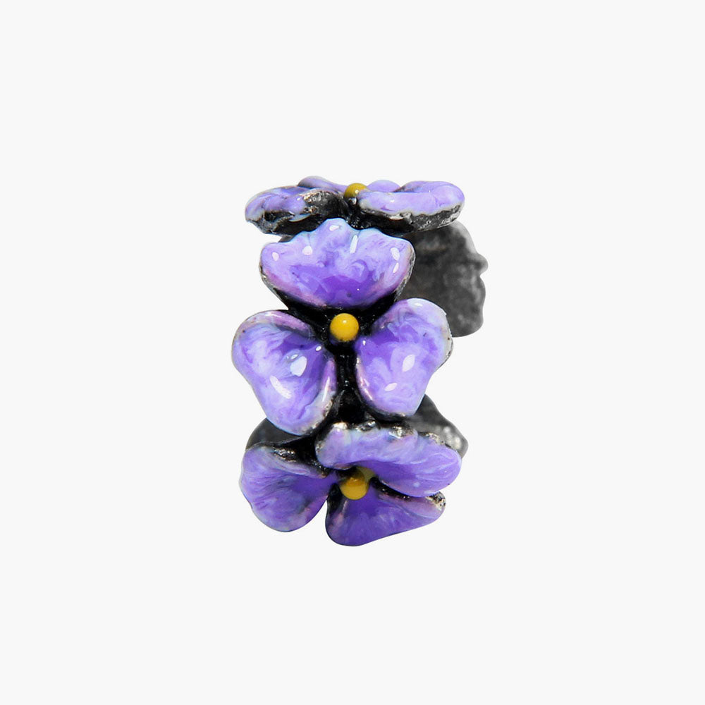 Purple Orchid Flower Spacer