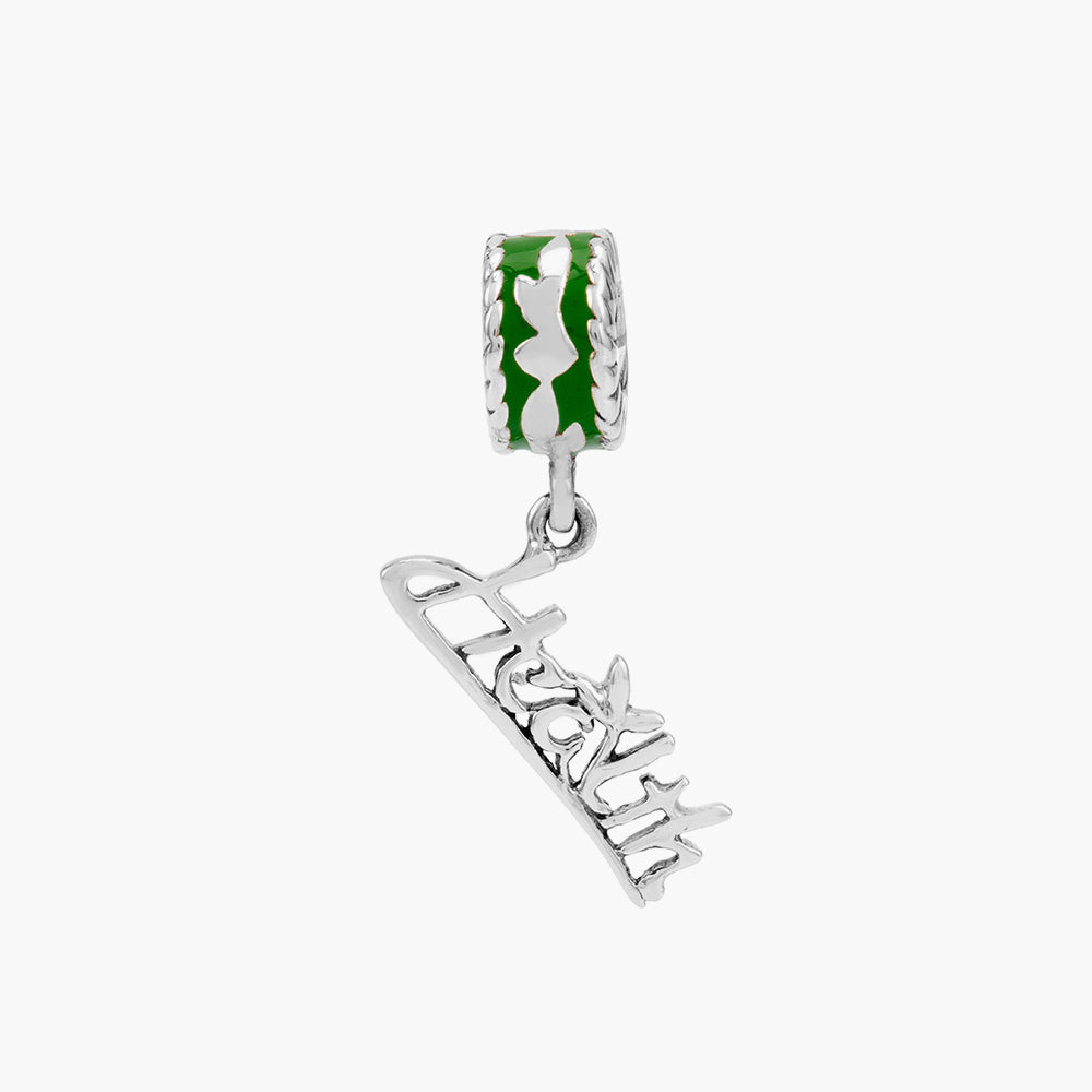 Health Dangle Bead