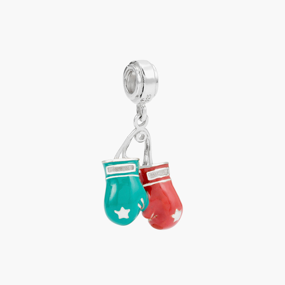 Boxing Gloves Dangle Bead