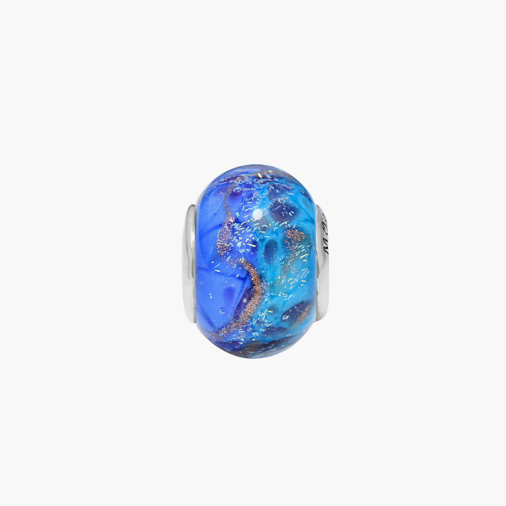 Small Our Ocean Glass Bead