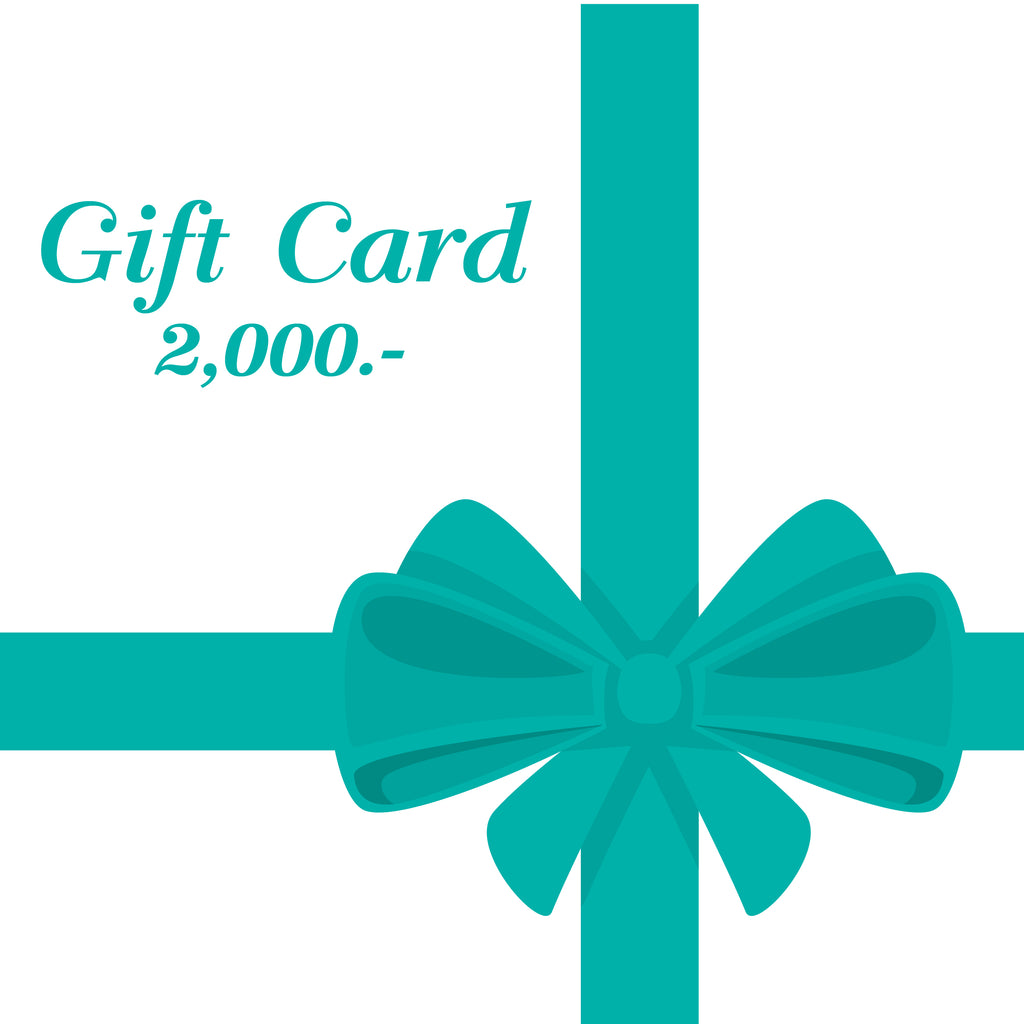 GIFT CARD 2000 THB
