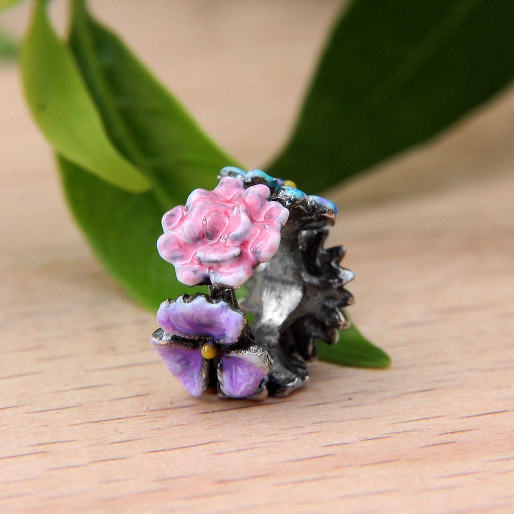 Mix Flower Spacer Bead