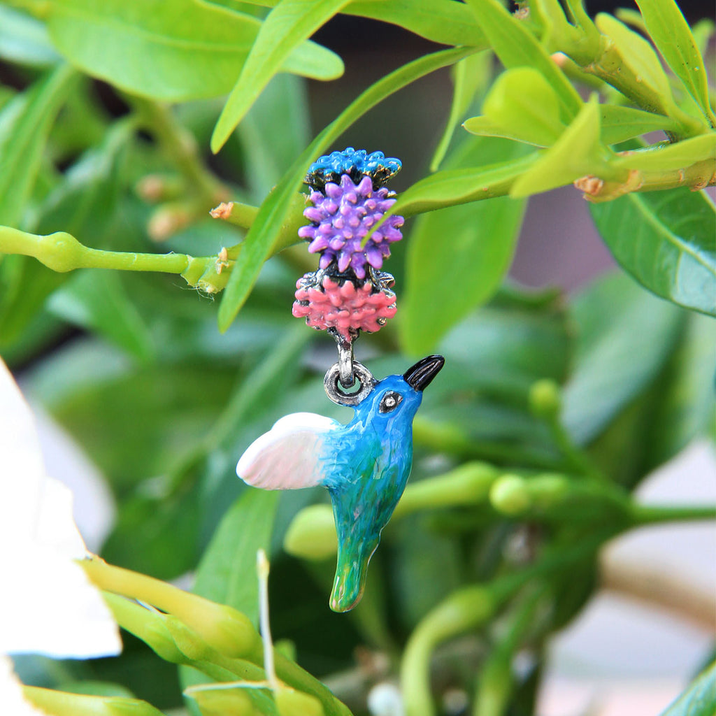 Hummingbird Dangle Bead