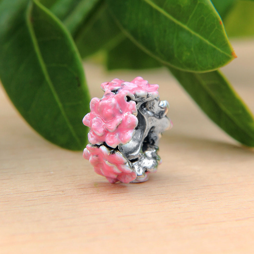 Pink Rose Flower Spacer