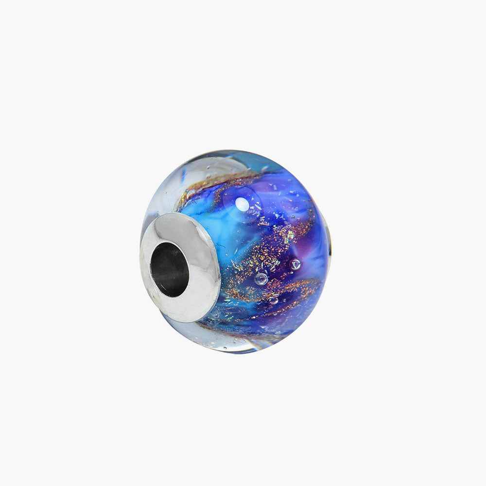 Large Our Ocean Glass Bead