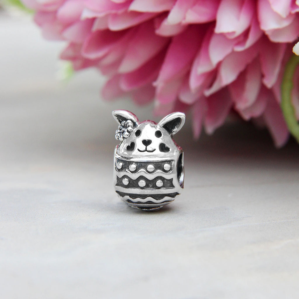 Easter Egg Bunny Bead