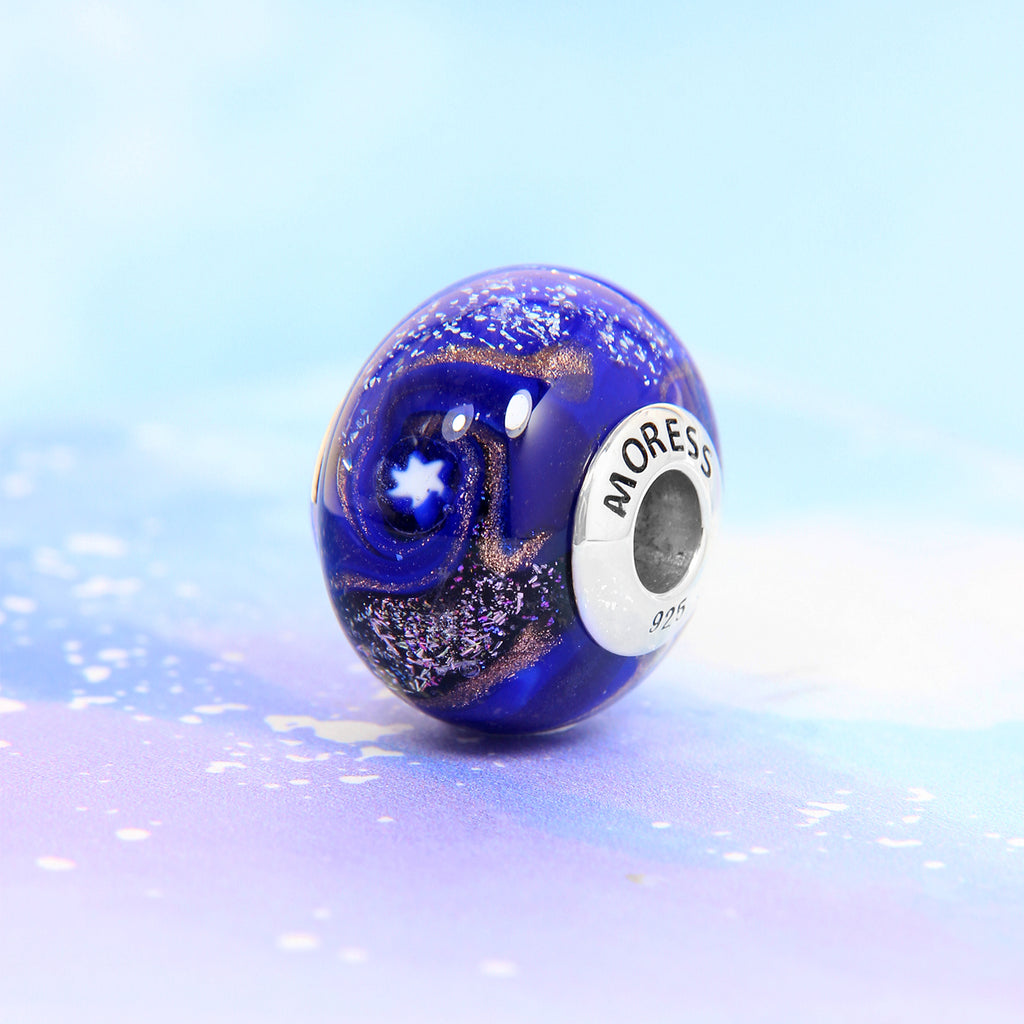 Shooting Star Glass Bead