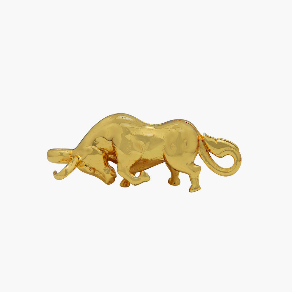 BUFFALO WITH GOLD PLATED