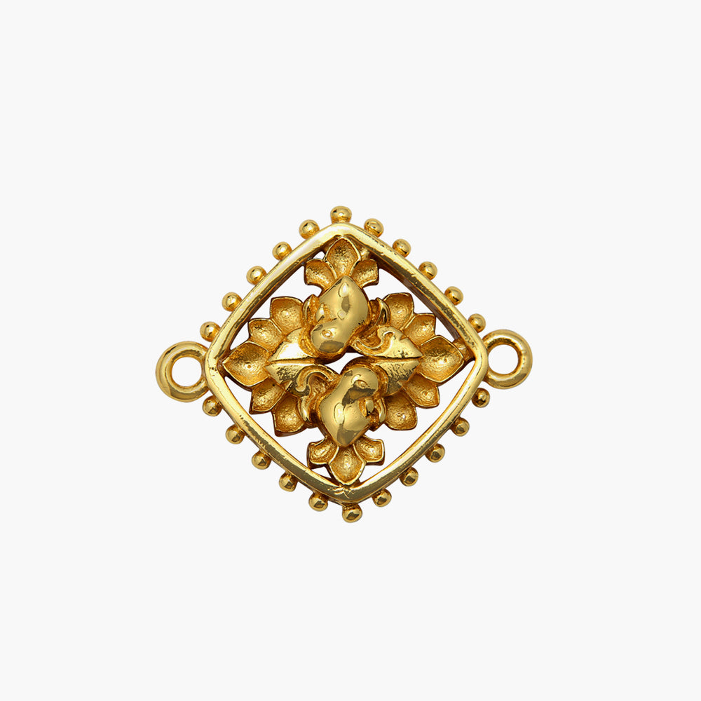 SARIKA AMULET WITH GOLD PLATED