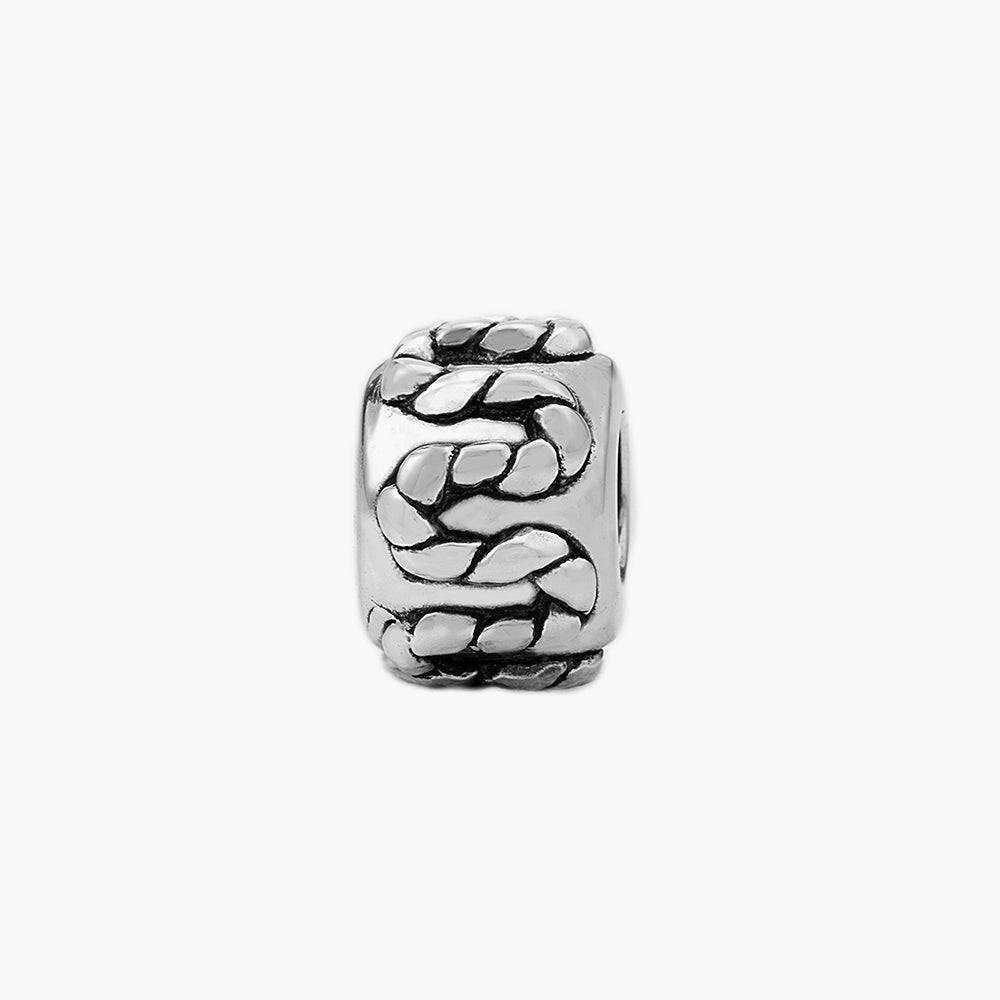 Silver Rope Bead