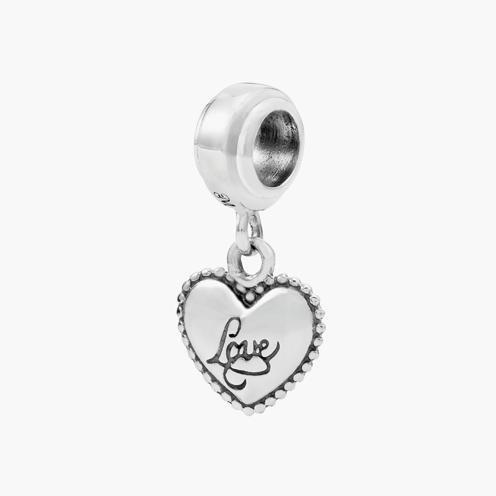 Heart Dangle Bead