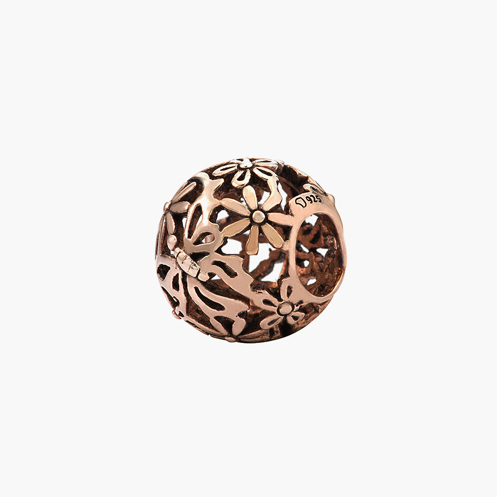Butterfly Rose Gold Bead