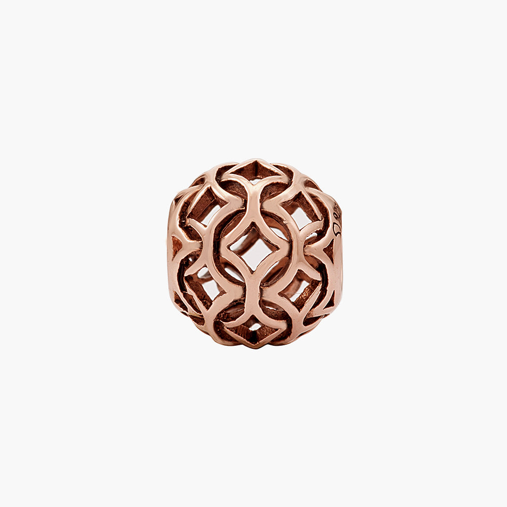 Nero Rose Gold Bead