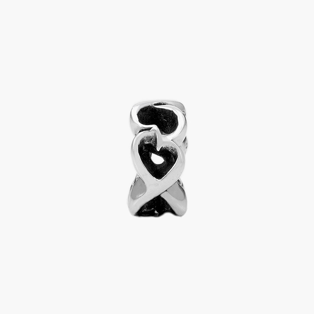 Heart Spacer Bead