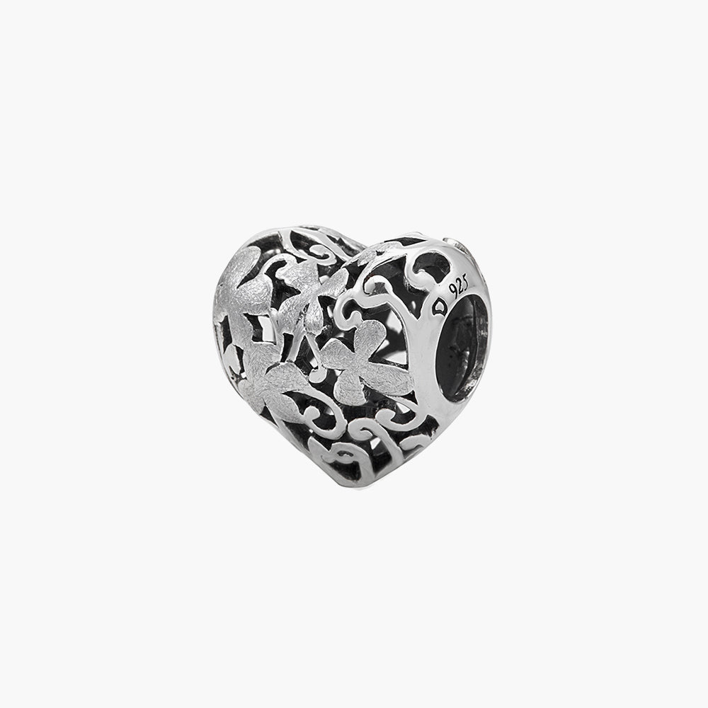 Heart Flower Bead