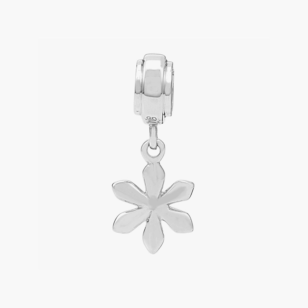 Snow Flake Dangle Bead