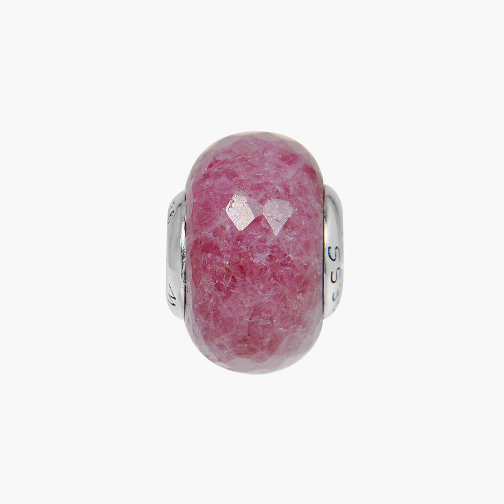 Rhodonite Stone Bead - LOVE&BALANCE