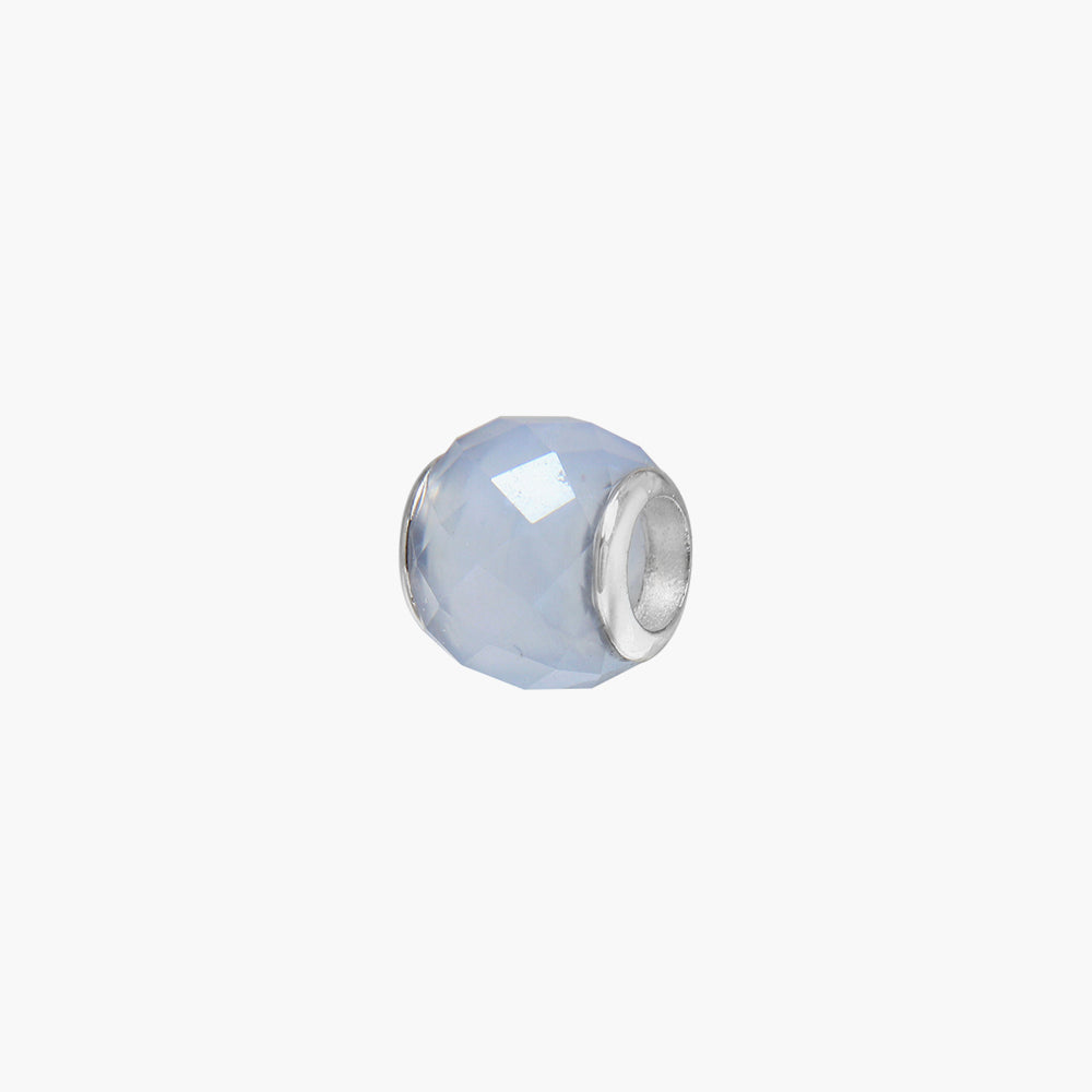 Blue Lace Agate Stone Bead (Mini)