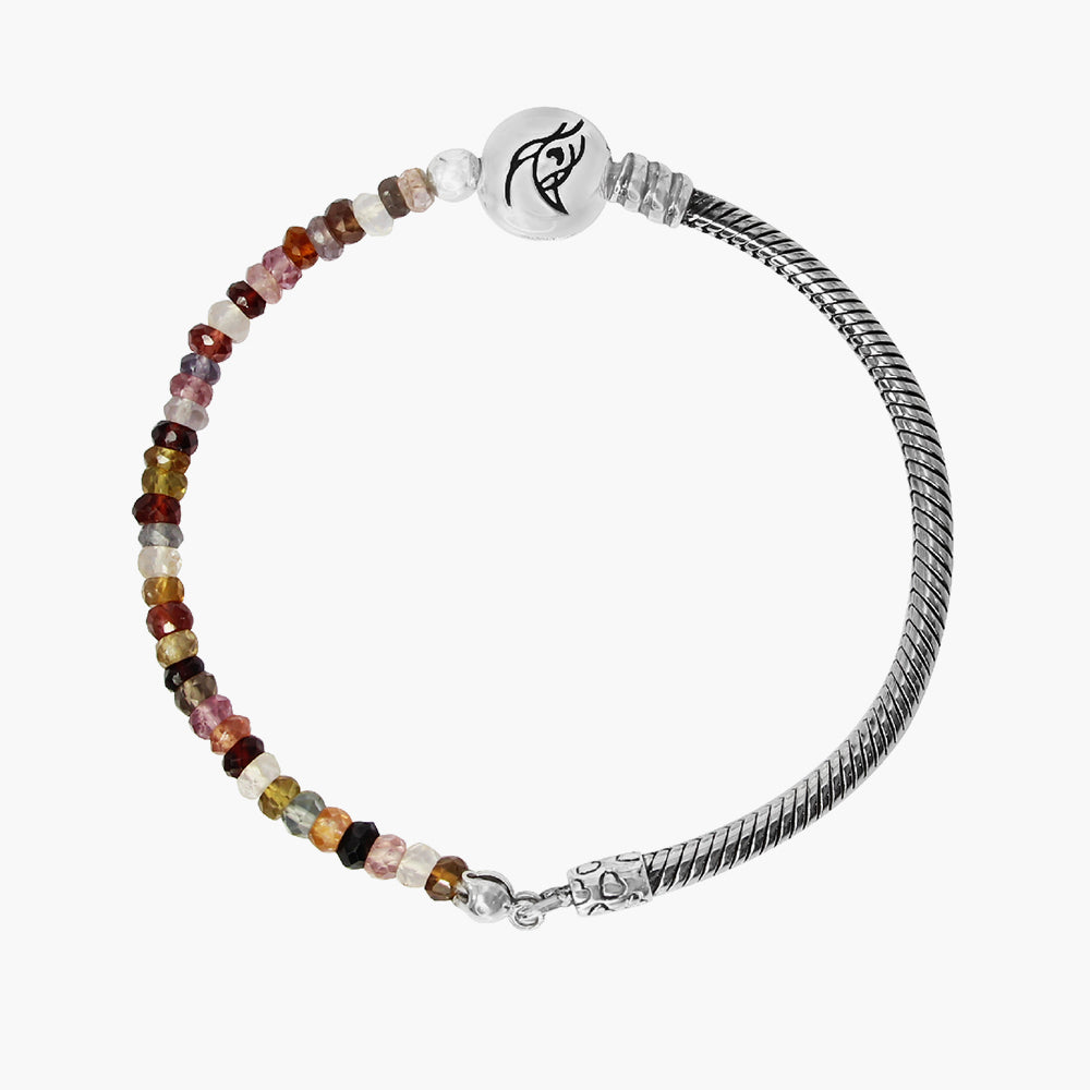 Brown Mixed Spinel Stone Bracelet