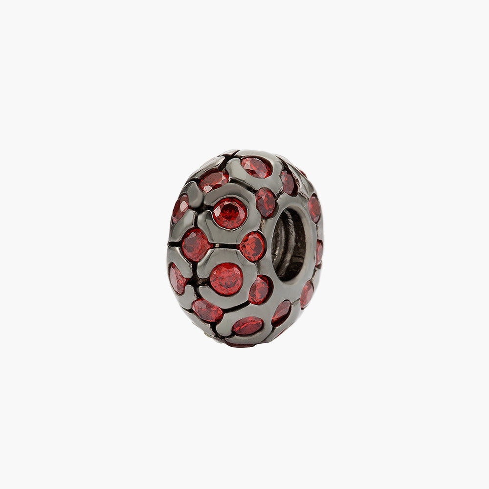 Red Shimmering Bead