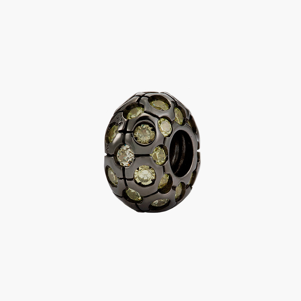 Green Shirmmering Bead