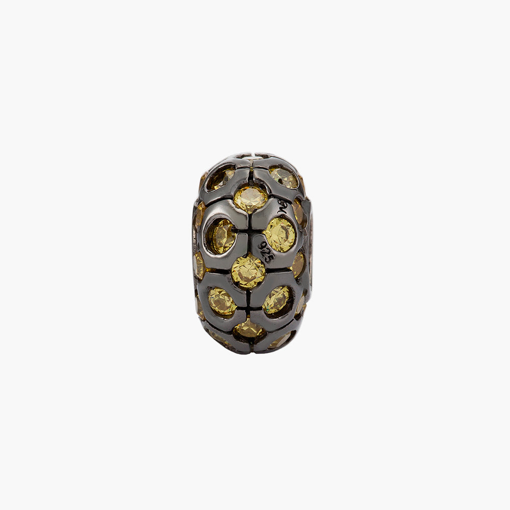 Yellow Shirmmering Bead