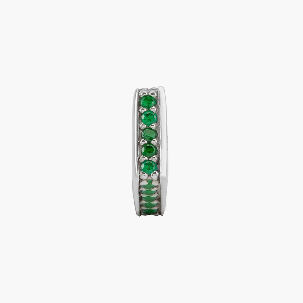 Green Sparkling Spacer Bead