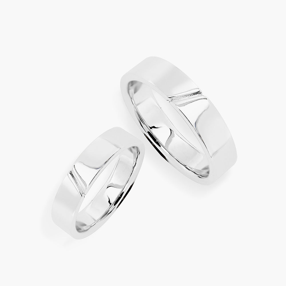 Sand Dune Couple Ring