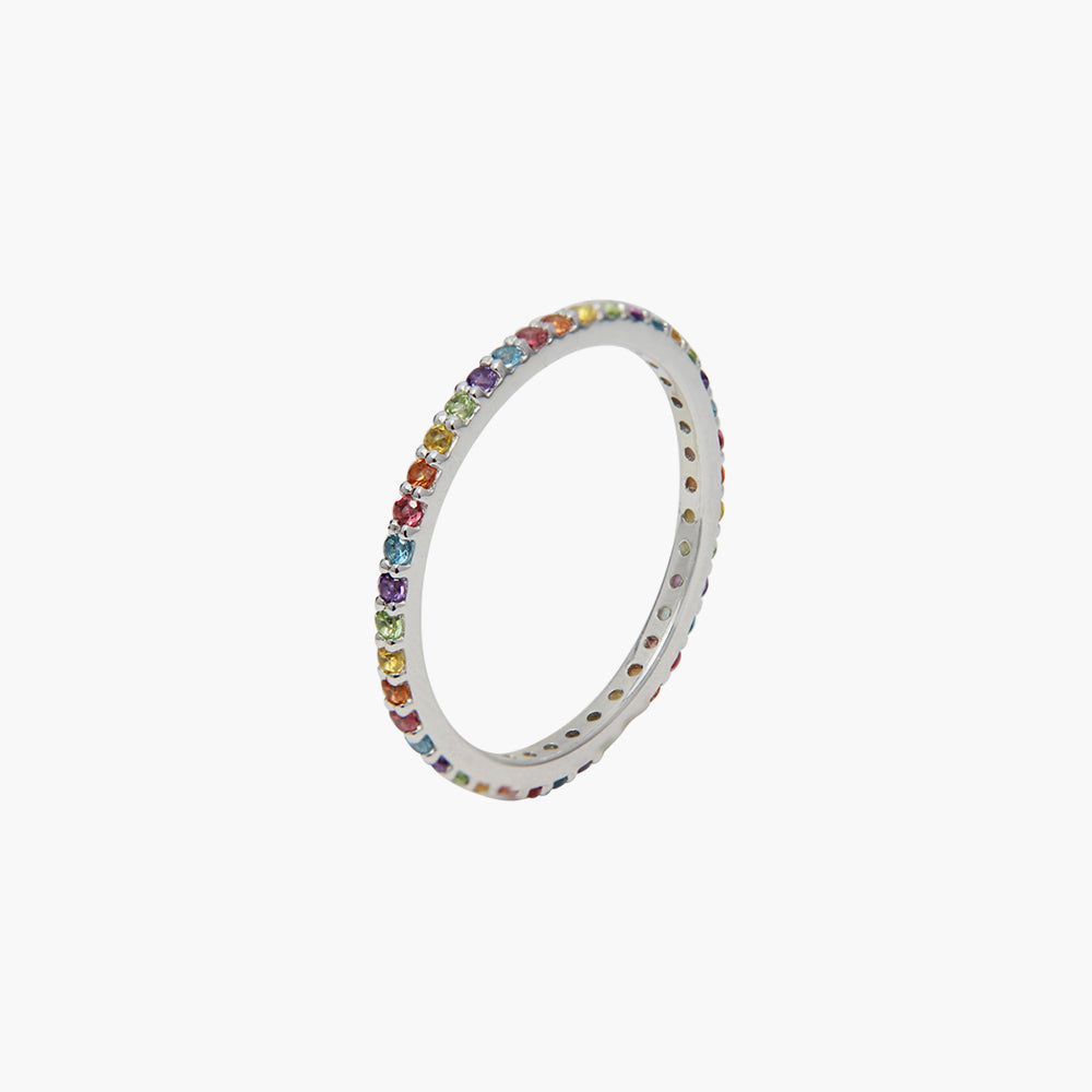 Rainbow Mixed Ring