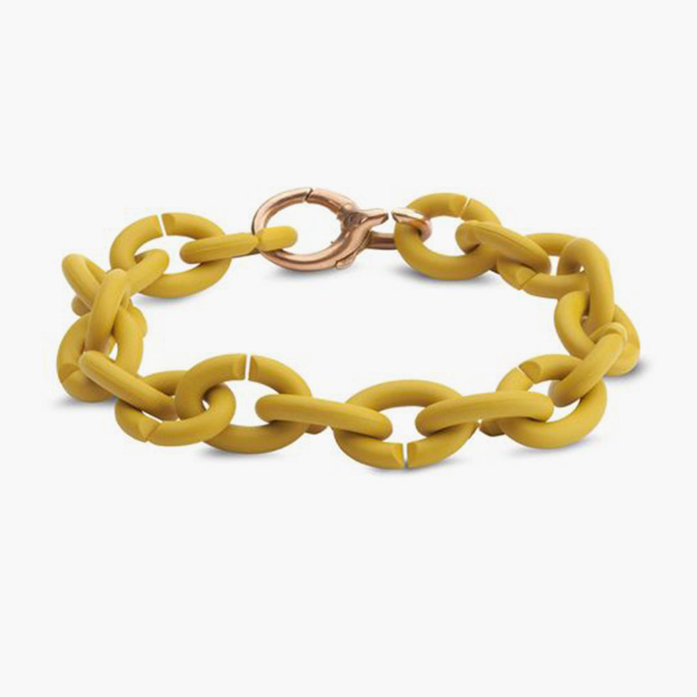 Mellow yellow bronze bracelet