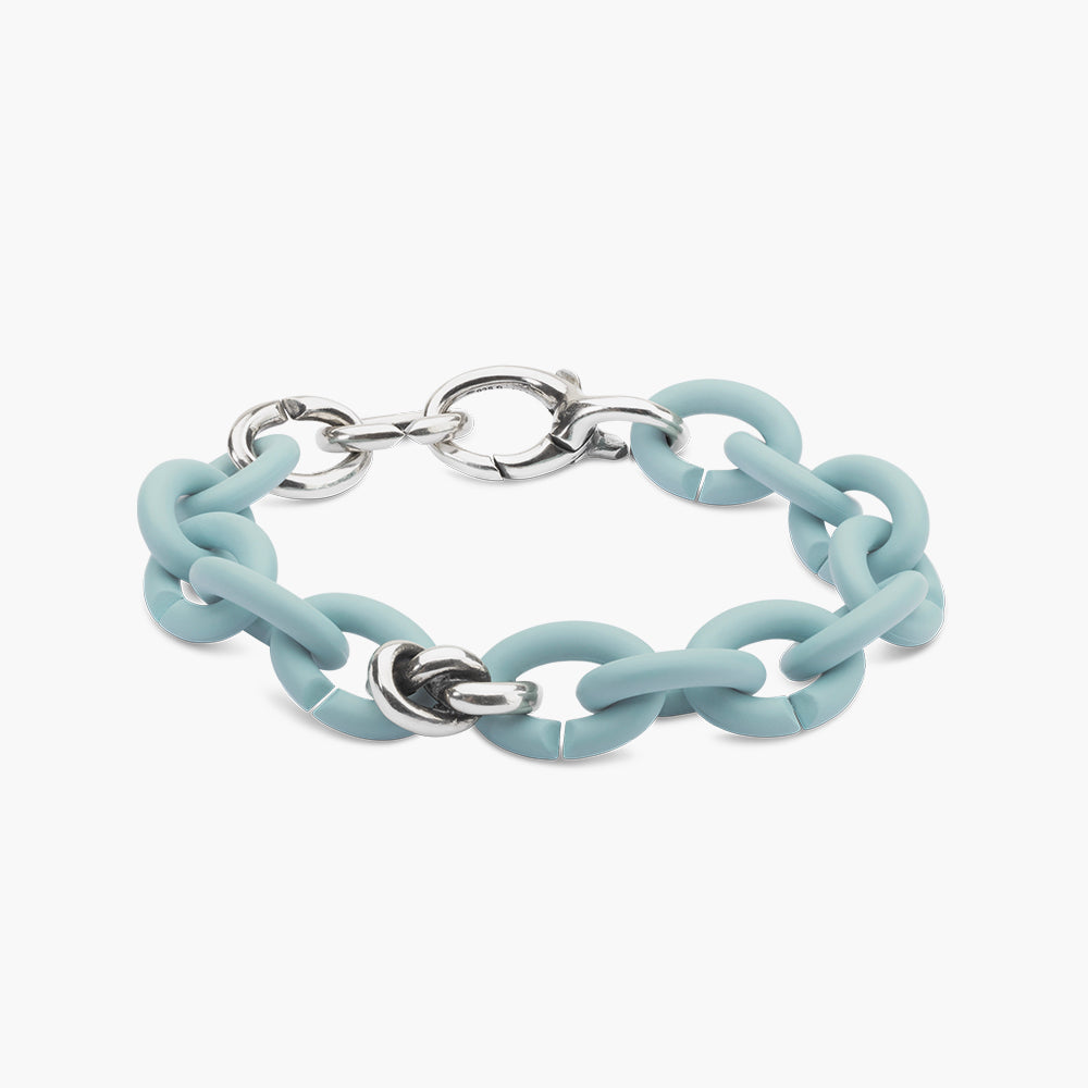 Forget-me-knot Silver Brecelet