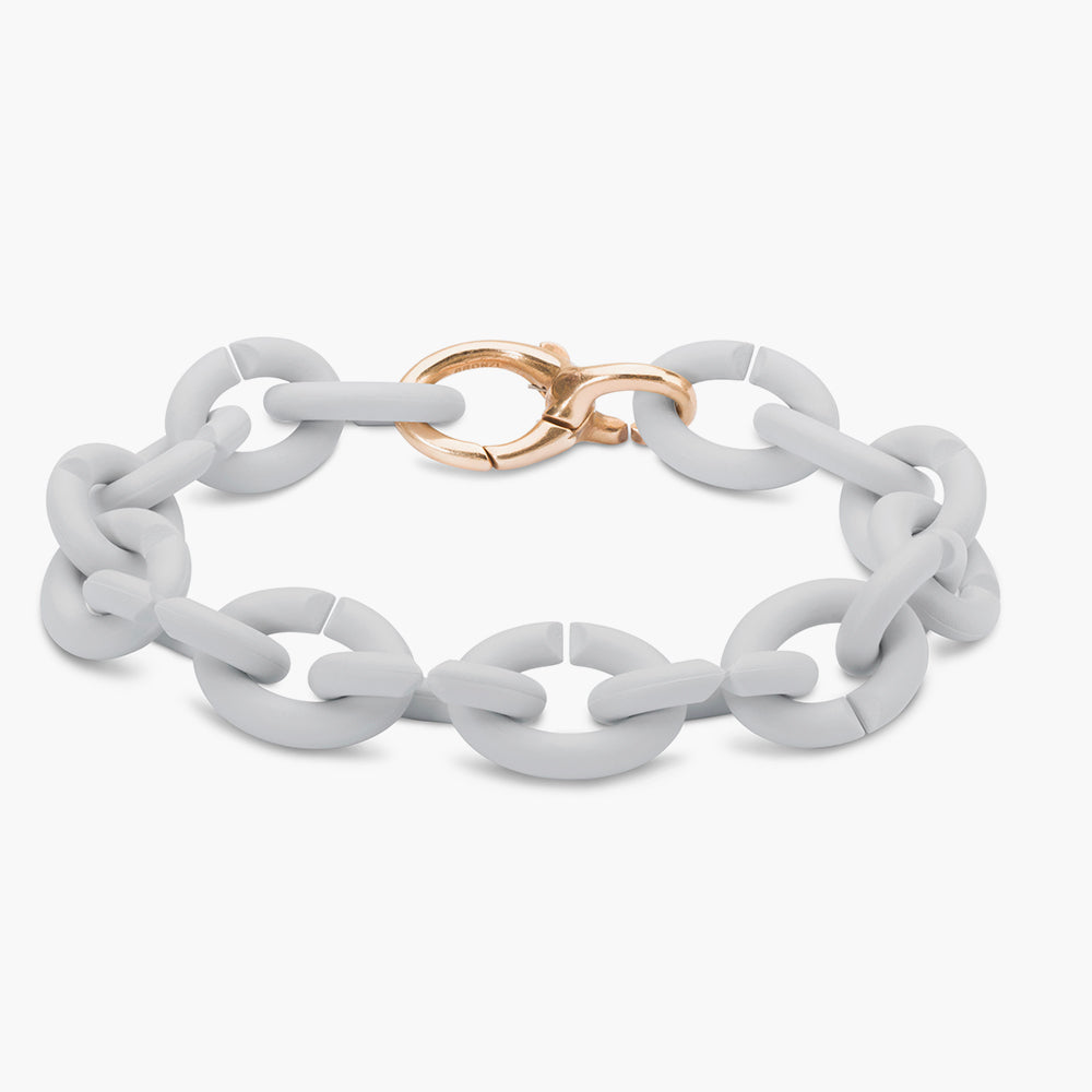 PALE GRAY BRONZE BRACELET