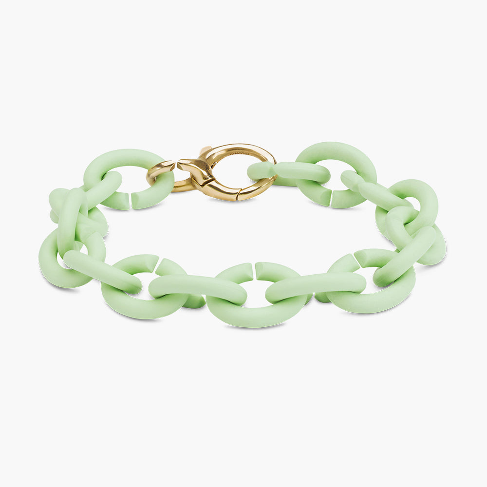 Mint Green bronze bracelet
