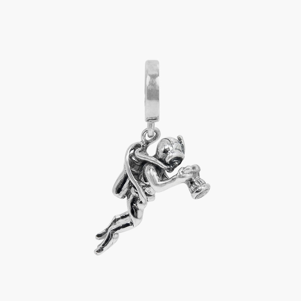 Scuba Diver Dangle Bead