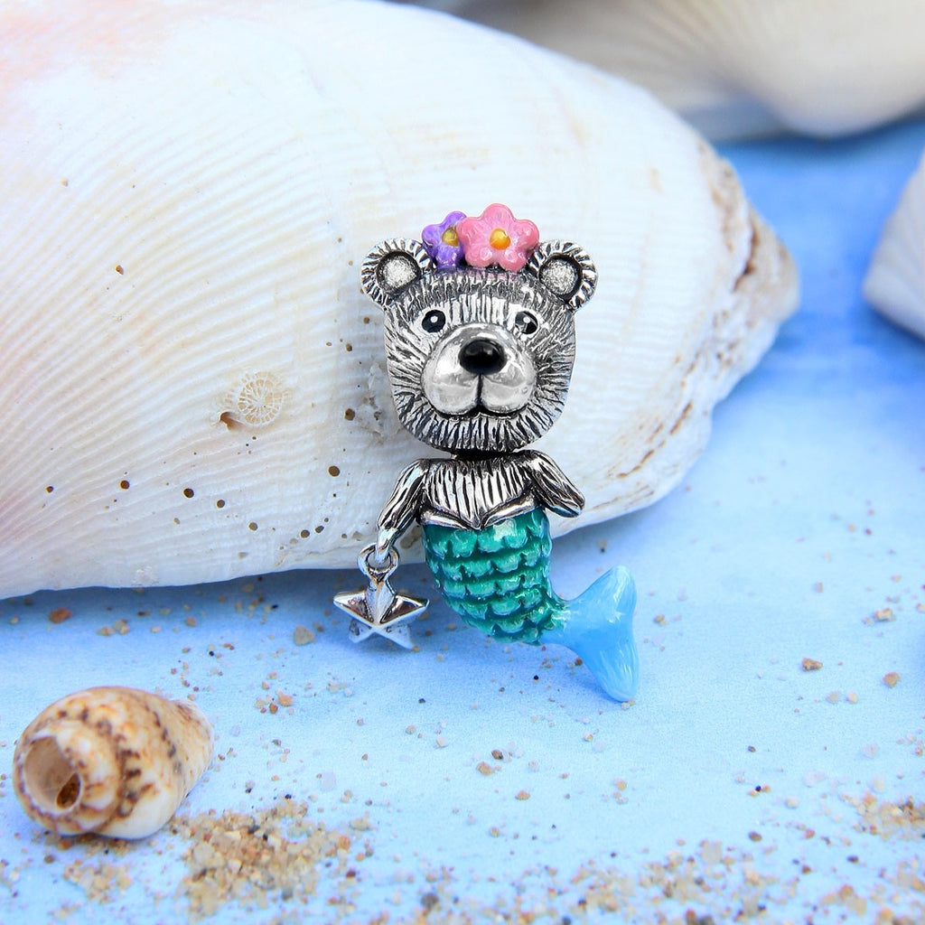 Teddy Mermaid Bead