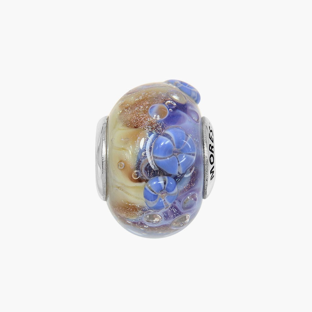 Indigo Ocean Glass Bead