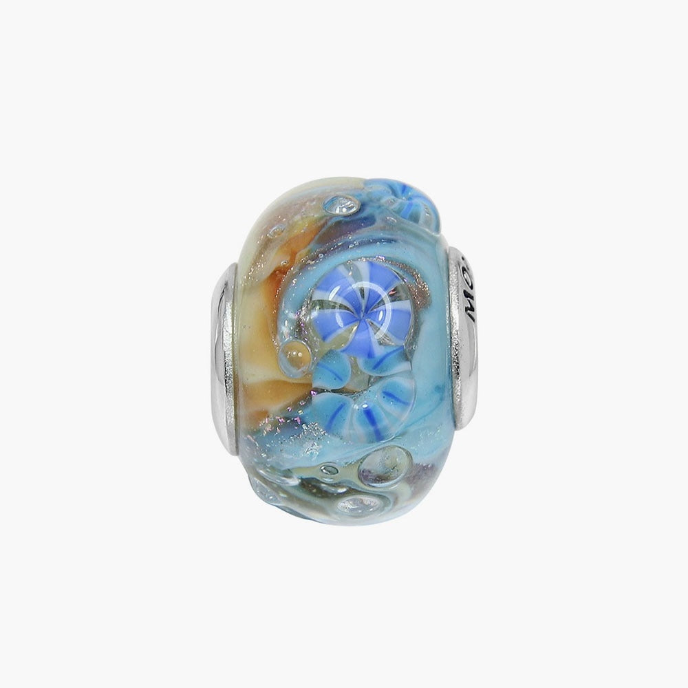 Blue Ocean Glass Bead