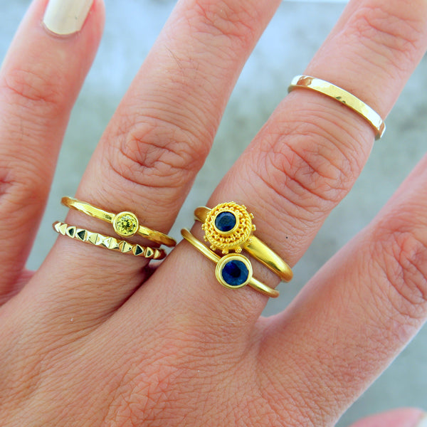 HOW TO WEAR STACKING RINGS LIKE A BOSS