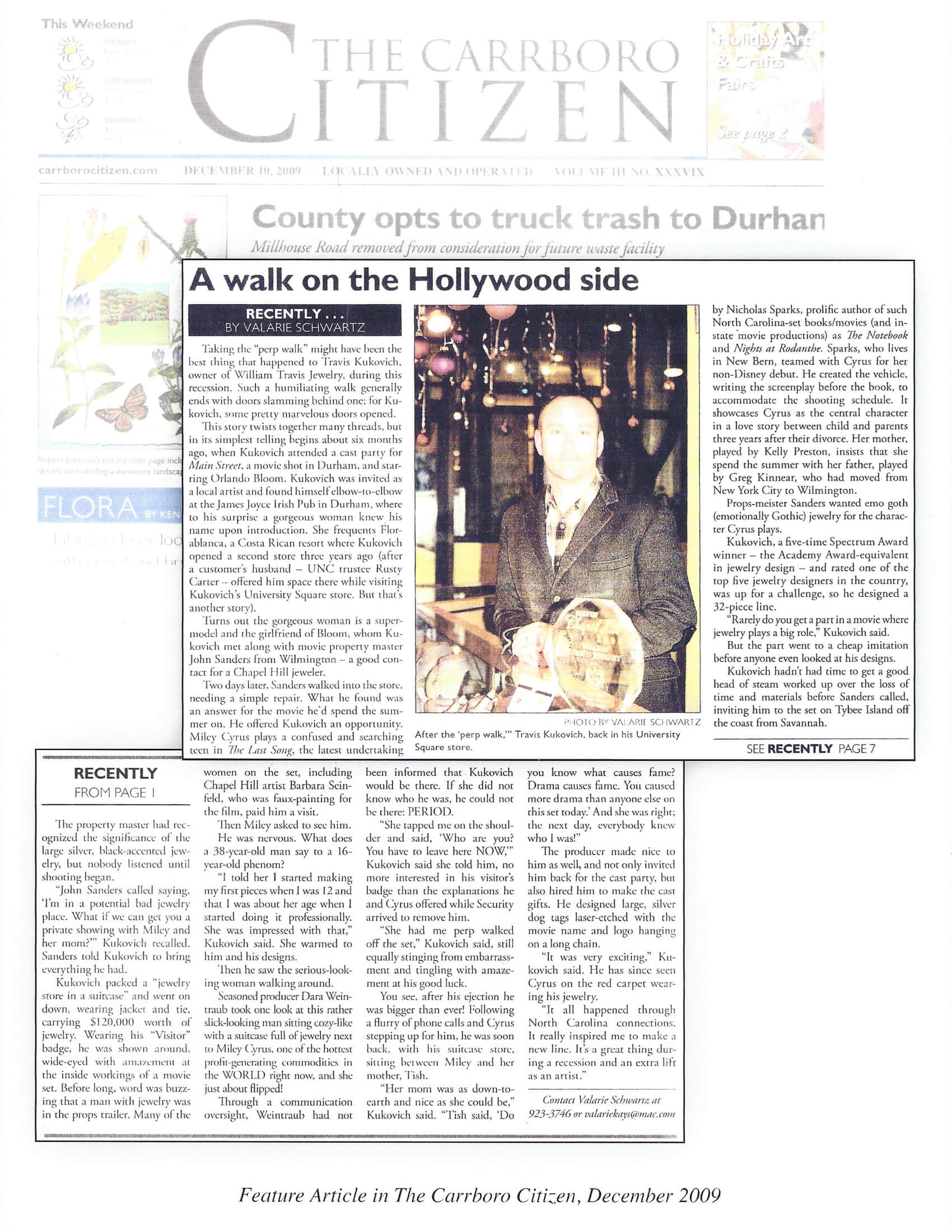 The Carrboro Citizen December 2009