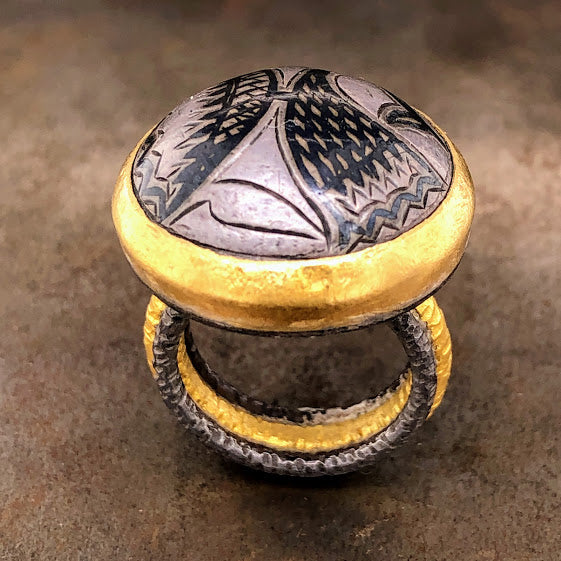 Turkish Button Ring
