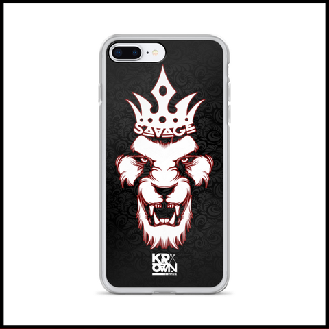 PHONE CASE - SAVAGE LION - iPHONE