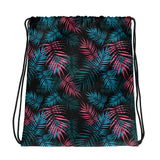*KRXWN LIFE - PALMS DRAWSTRING BAG*