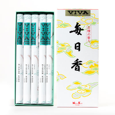 Mainichi-koh Viva Sandalwood Incense