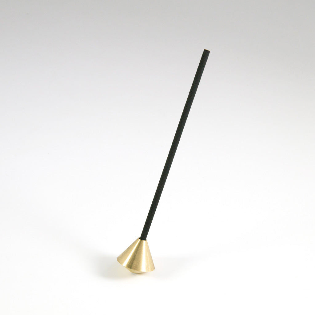 Elemense Acorn Brass Incense Holder