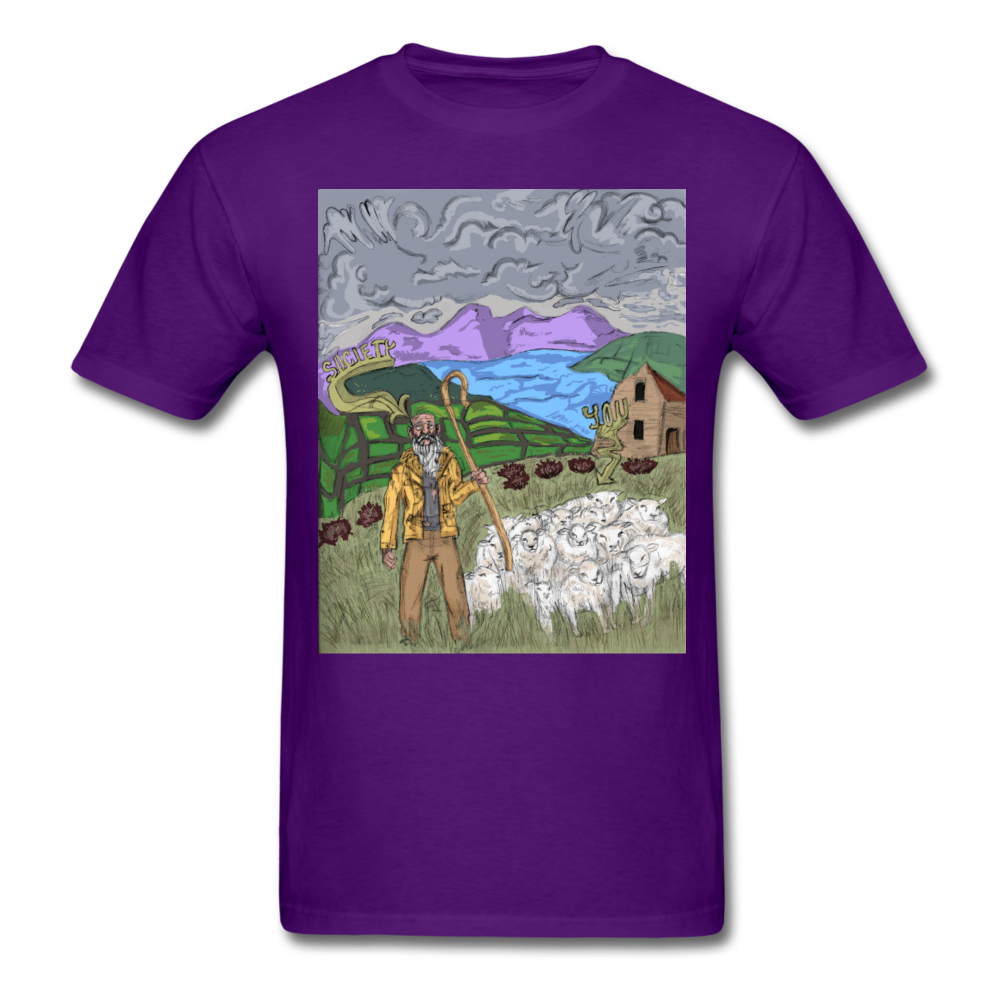 Sheeple T-Shirt - purple