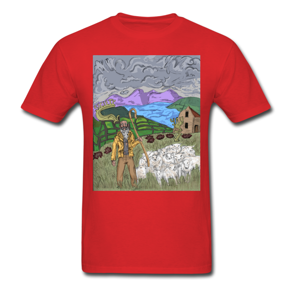Sheeple T-Shirt - red